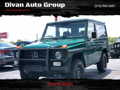 1994 Mercedes-Benz G-Class for sale at Divan Auto Group in Feasterville Trevose PA