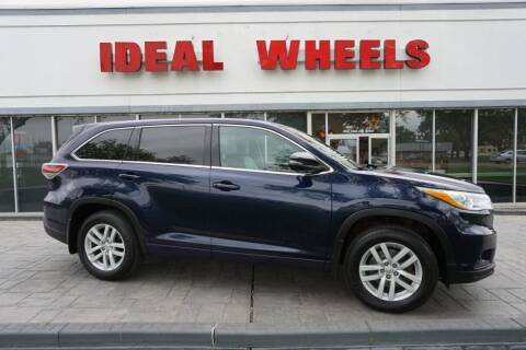2015 Toyota Highlander for sale at Ideal Wheels in Sioux City IA