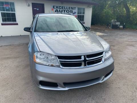 2014 Dodge Avenger for sale at Excellent Autos of Orlando in Orlando FL