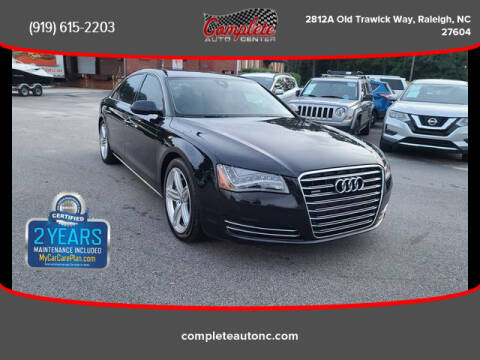 2013 Audi A8 L for sale at Complete Auto Center , Inc in Raleigh NC