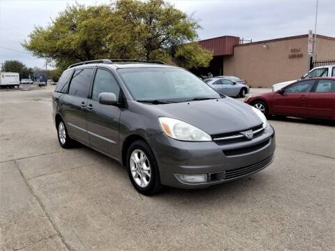 2005 Toyota Sienna for sale at Image Auto Sales in Dallas TX