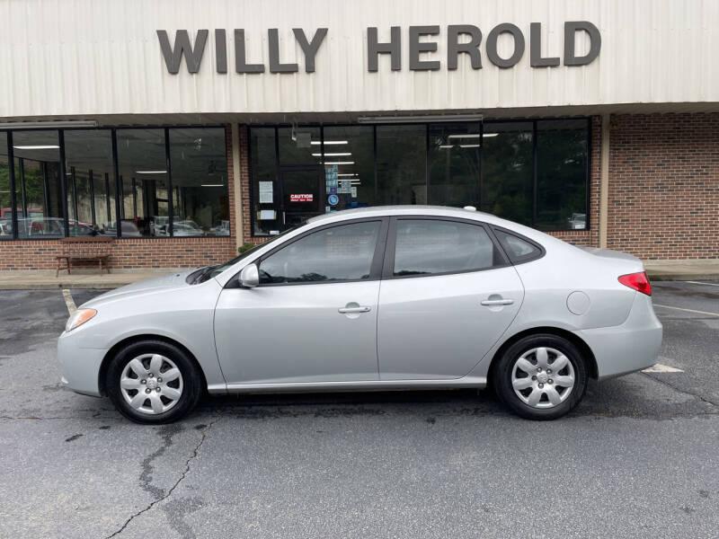 2007 Hyundai Elantra for sale at Willy Herold Automotive in Columbus GA