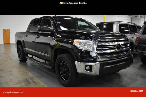 2016 Toyota Tundra for sale at Atlanta Cars and Trucks in Kennesaw GA