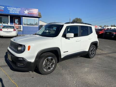 2015 Jeep Renegade for sale at All American Auto Sales LLC in Nampa ID