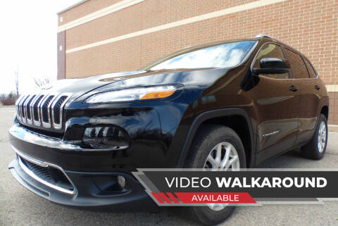 2017 Jeep Cherokee for sale at Macomb Automotive Group in New Haven MI