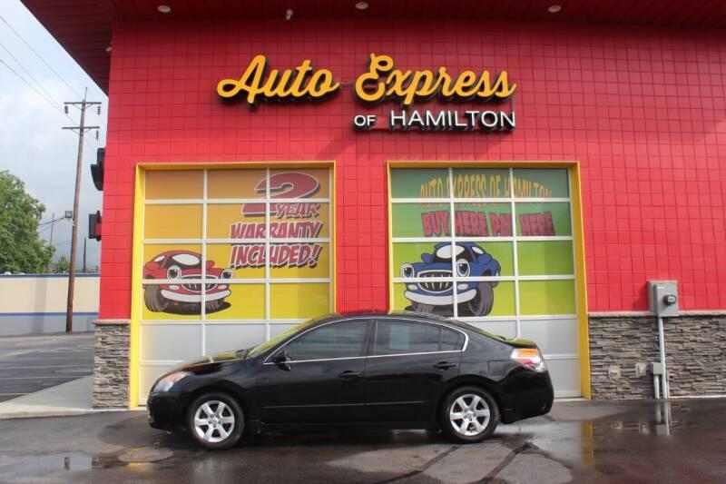 2009 Nissan Altima for sale at AUTO EXPRESS OF HAMILTON LLC in Hamilton OH