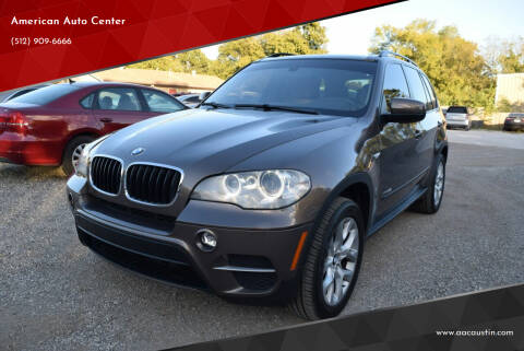 2013 BMW X5 for sale at American Auto Center in Austin TX