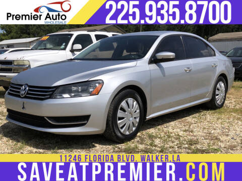 2015 Volkswagen Passat for sale at Premier Auto Wholesale in Baton Rouge LA