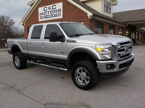 2015 Ford F-250 Super Duty for sale at C & C MOTORS in Chattanooga TN
