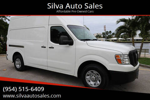 2013 Nissan NV Cargo for sale at Silva Auto Sales in Pompano Beach FL