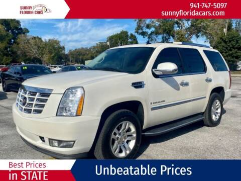 2007 Cadillac Escalade for sale at Sunny Florida Cars in Bradenton FL