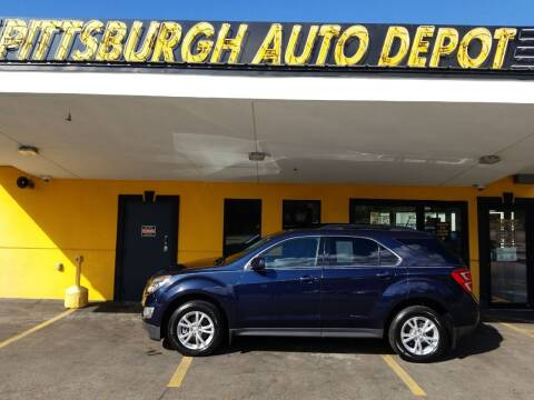 2017 Chevrolet Equinox for sale at Pittsburgh Auto Depot in Pittsburgh PA