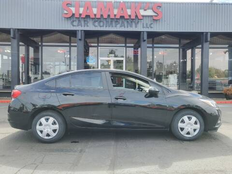 2016 Chevrolet Cruze for sale at Siamak's Car Company llc in Salem OR
