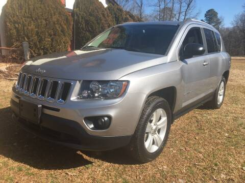 2016 Jeep Compass for sale at March Motorcars in Lexington NC
