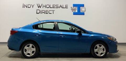 2017 Subaru Impreza for sale at Indy Wholesale Direct in Carmel IN