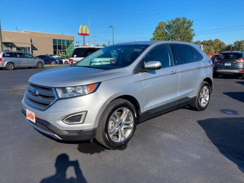 2016 Ford Edge for sale at McCully's Automotive - Trucks & SUV's in Benton KY