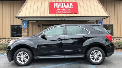 2013 Chevrolet Equinox for sale at Butler Enterprises in Savannah GA