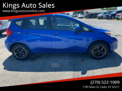 2014 Nissan Versa Note for sale at Kings Auto Sales in Cadiz KY