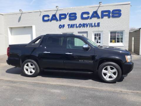 2008 Chevrolet Avalanche for sale at Caps Cars Of Taylorville in Taylorville IL