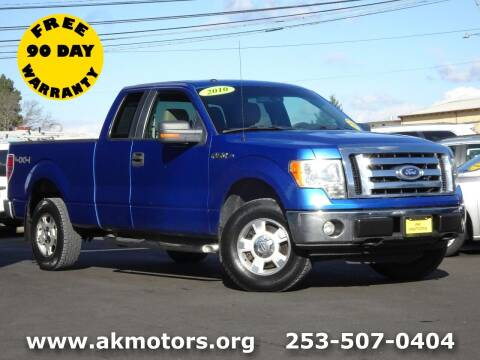 2010 Ford F-150 for sale at AK Motors in Tacoma WA