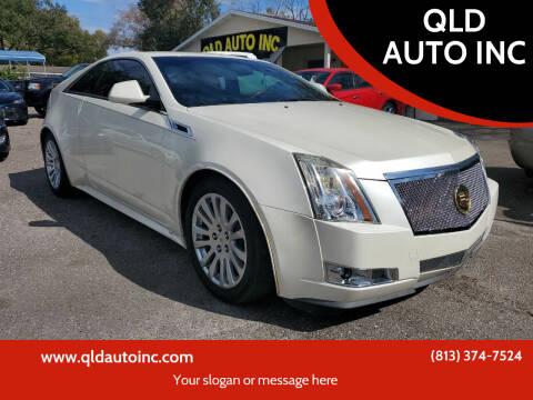 2011 Cadillac CTS for sale at QLD AUTO INC in Tampa FL