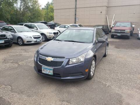 2013 Chevrolet Cruze for sale at Fleet Automotive LLC in Maplewood MN