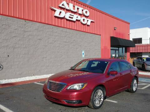 2012 Chrysler 200 for sale at Auto Depot - Madison in Madison TN