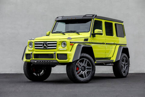 2017 Mercedes-Benz G-Class for sale at Nuvo Trade in Newport Beach CA