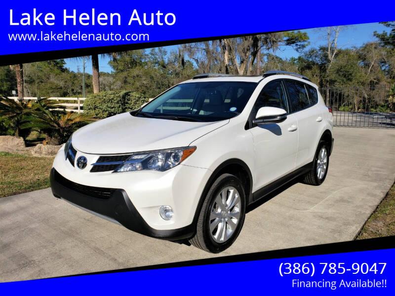 2014 Toyota RAV4 for sale at Lake Helen Auto in Lake Helen FL