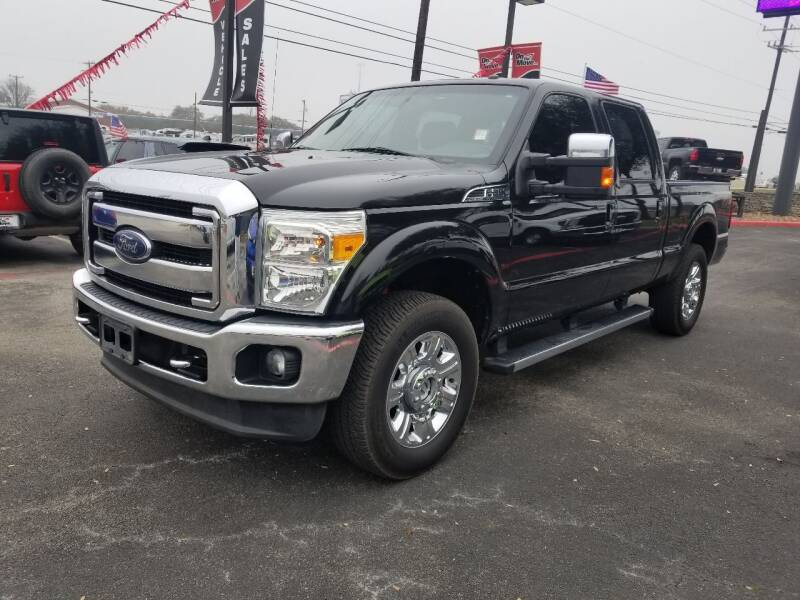 2012 Ford F-250 Super Duty for sale at ON THE MOVE INC in Boerne TX