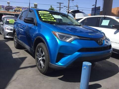 2018 Toyota RAV4 for sale at 2955 FIRESTONE BLVD in South Gate CA