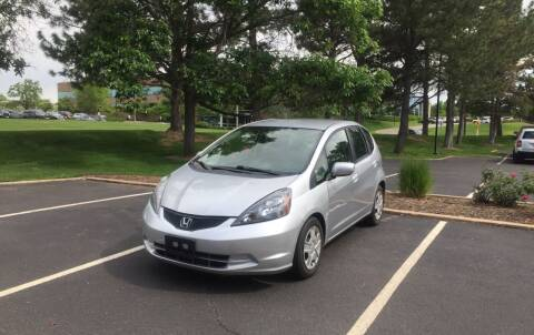 2013 Honda Fit for sale at QUEST MOTORS in Englewood CO