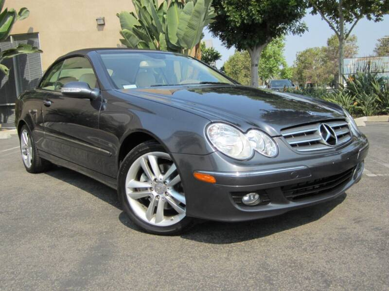 2008 Mercedes-Benz CLK for sale at ORANGE COUNTY AUTO WHOLESALE in Irvine CA