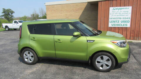 2015 Kia Soul for sale at LENTZ USED VEHICLES INC in Waldo WI