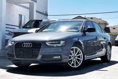 2015 Audi A4 for sale at Fastrack Auto Inc in Rosemead CA