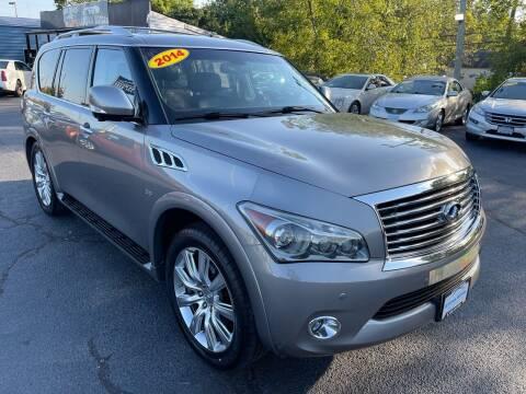 2014 Infiniti QX80 for sale at LexTown Motors in Lexington KY