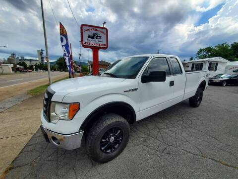 2012 Ford F-150 for sale at Ford's Auto Sales in Kingsport TN
