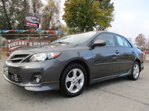 2012 Toyota Corolla for sale at Vigeants Auto Sales Inc in Lowell MA