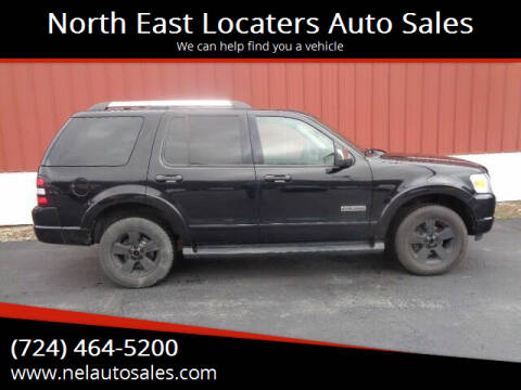 2006 Ford Explorer for sale at North East Locaters Auto Sales in Indiana PA