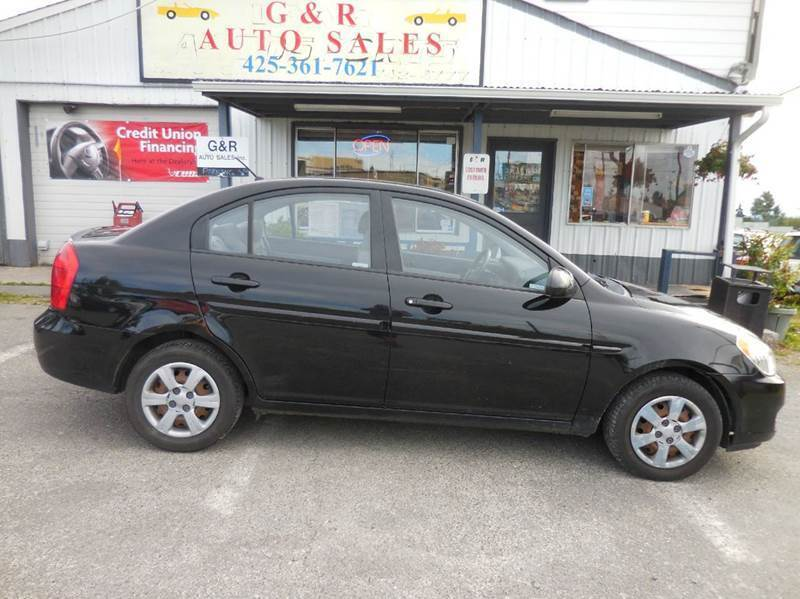 2006 Hyundai Accent for sale at G&R Auto Sales in Lynnwood WA