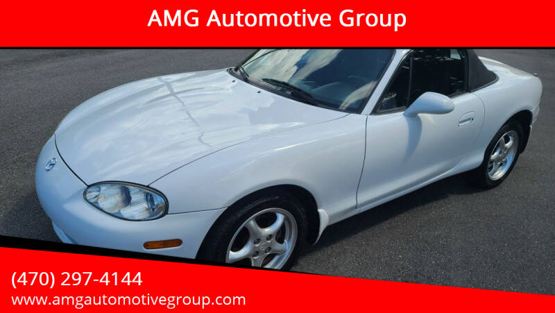 2002 Mazda MX-5 Miata for sale at AMG Automotive Group in Cumming GA
