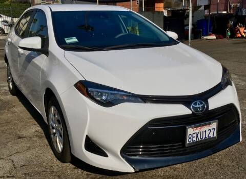 2018 Toyota Corolla for sale at Eden Motor Group in Los Angeles CA