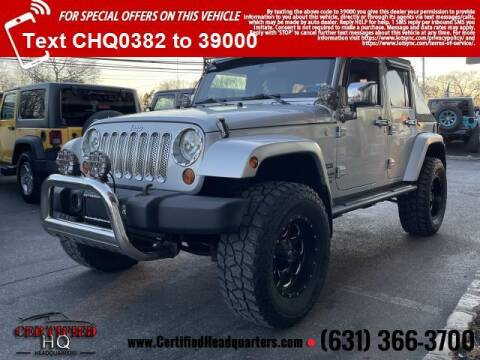 2010 Jeep Wrangler Unlimited for sale at CERTIFIED HEADQUARTERS in St James NY