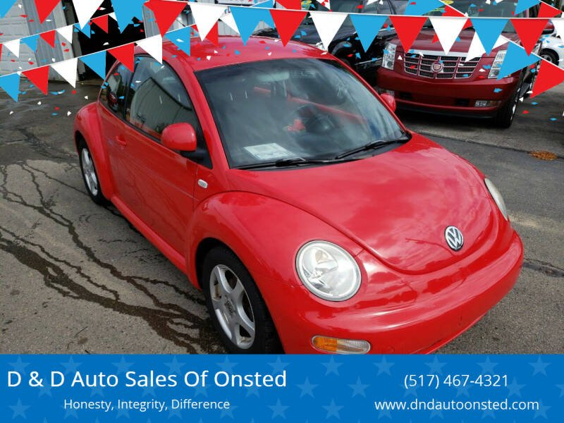 1999 Volkswagen New Beetle for sale at D & D Auto Sales Of Onsted in Onsted   Brooklyn MI