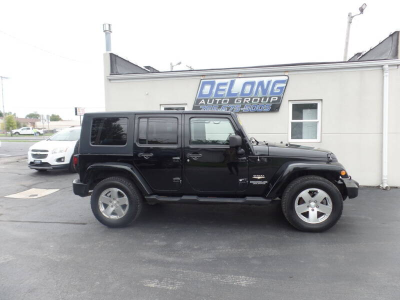 2008 Jeep Wrangler Unlimited for sale at DeLong Auto Group in Tipton IN
