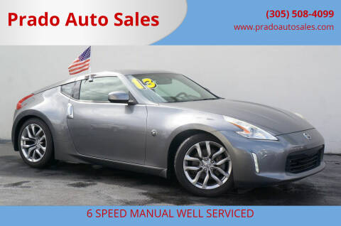2013 Nissan 370Z for sale at Prado Auto Sales in Miami FL