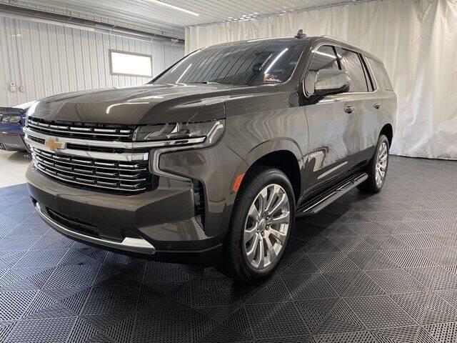 2021 Chevrolet Tahoe for sale at Monster Motors in Michigan Center MI