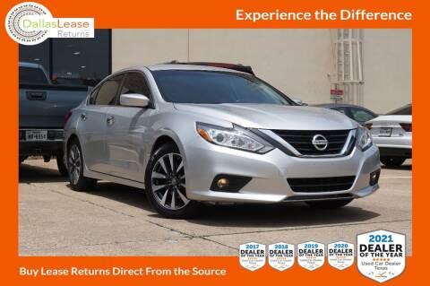 2017 Nissan Altima for sale at Dallas Auto Finance in Dallas TX