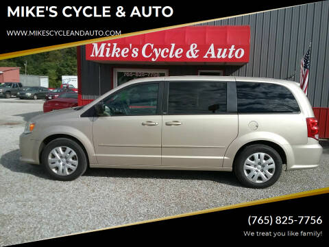 2014 Dodge Grand Caravan for sale at MIKE'S CYCLE & AUTO - Mikes Cycle and Auto (Liberty) in Liberty IN