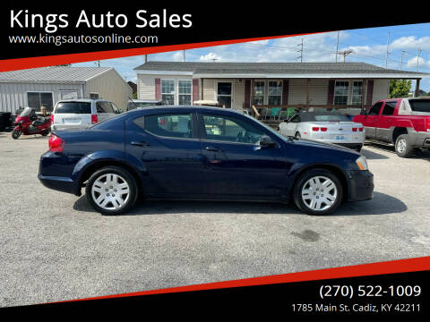 2014 Dodge Avenger for sale at Kings Auto Sales in Cadiz KY